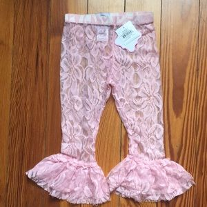 Other - Mud Pie Lace Leggings
